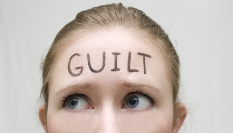 overcome feelings of guilt